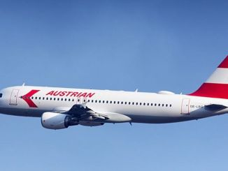 austria airlines depart trains for environment