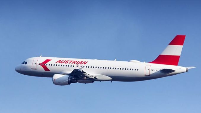 hãng hàng không austria khởi hành tàu vì môi trường