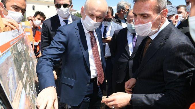 A miniszter véleményt talált a karaismailoglu palandoken logisztikai központban