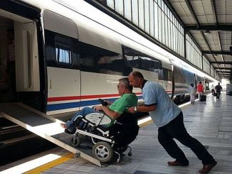 Explanation on the transportation of disabled passengers from the ministry