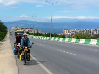 they pedaled from barcelona to bursa