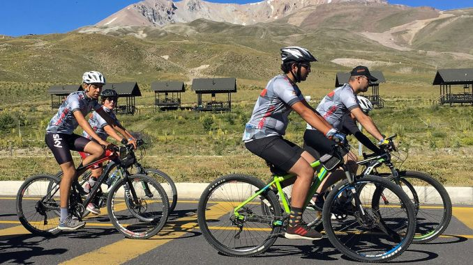 cycling enthusiasts will sign a meaningful event in erciy