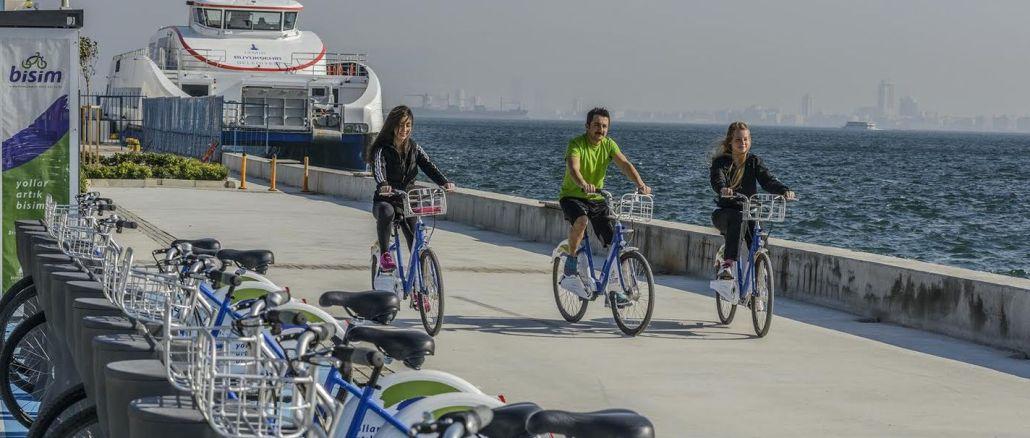 Moje číslo stanice sa zvyšuje, cyklistika prichádza do Izmiru.