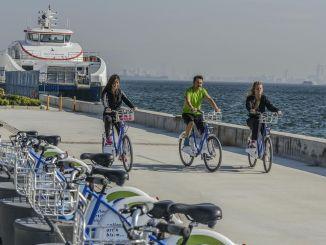 Номер моей станции увеличивается, езда на велосипеде идет в Измир.