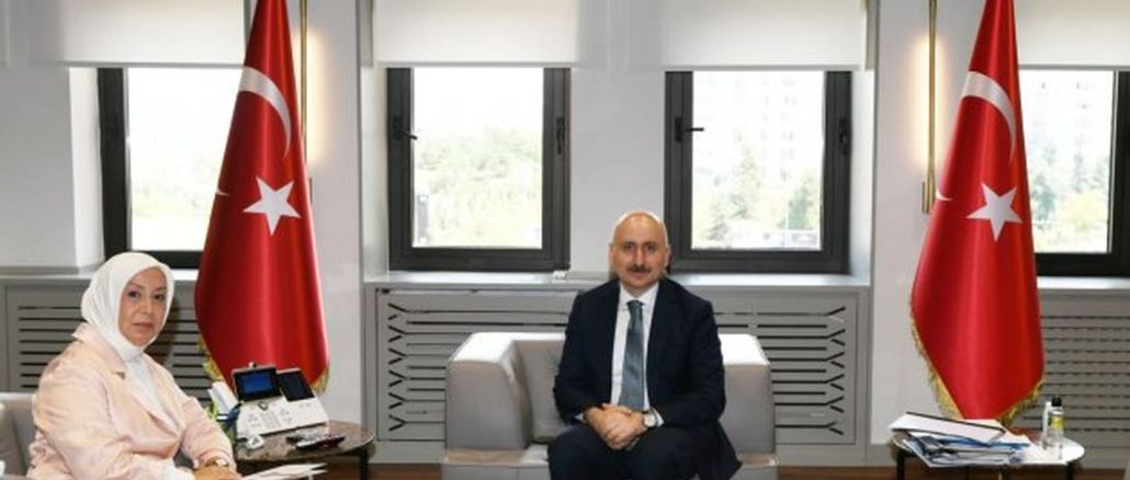 Minister of Foreign Affairs tells Karaismailogl about the transportation problems of Malatya