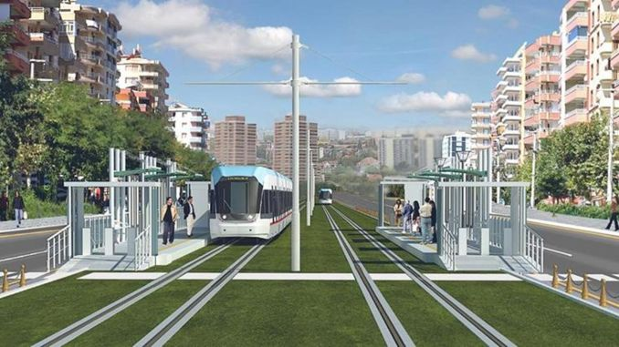 What happened to the tram project that will ease the traffic of diyarbakir