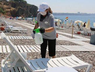 Pantai ekdag konyaalti menjadi favorit para wisatawan