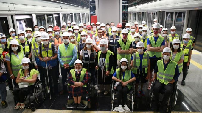barrier-free subway suggestions were collected from citizens with disabilities