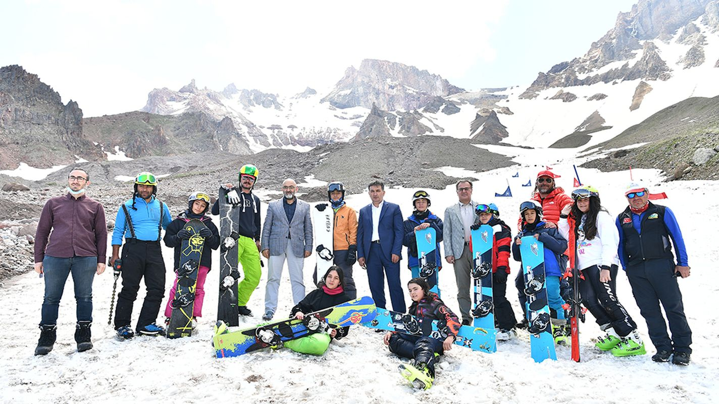 erciyes four-season skiing pleasure