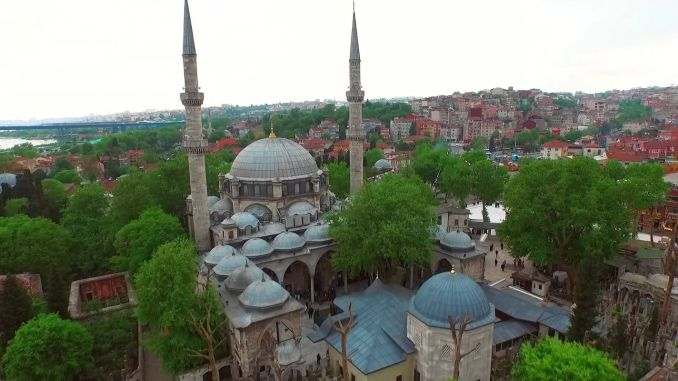 Where is Eyup Sultan Mosque and Turbesi