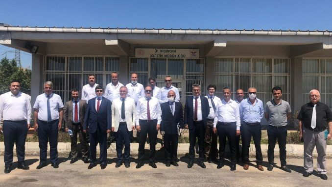 general manager writer visited manisa organized industrial zone