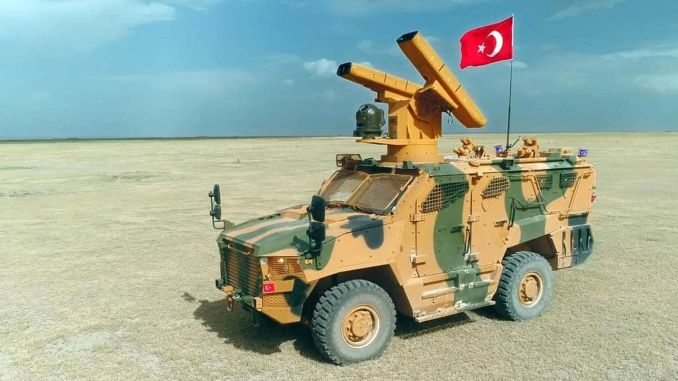 sungur new member of air defense family is ready for duty