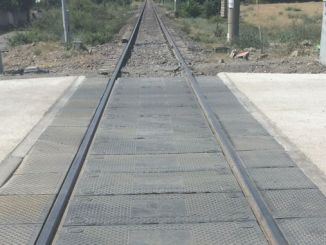 Rubber Coating in Level Crossings Result of Tender