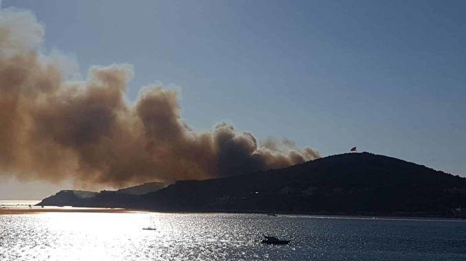 Heybeliada Brandschutz wurde in Gewahrsam genommen