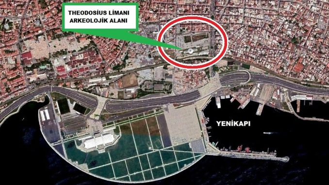 ibb organizes competition for the port of theodosius at yenikapi