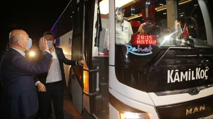 interior minister suleyman participated in noble traffic control