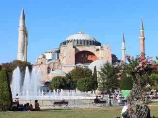 imamoglu ayasofya mosque and azan for years