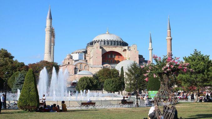 imamoglu ayasofya mosque and azan for years