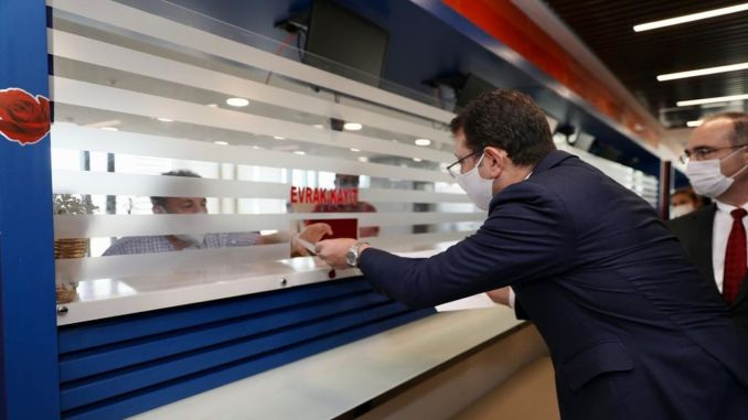 imamoglu channel filed an appeal about the istanbul project