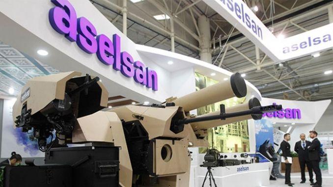 aselsan, vodca obrany v izol
