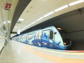 Το μετρό της Κωνσταντινούπολης θα τεθεί σε λειτουργία τον Απρίλιο