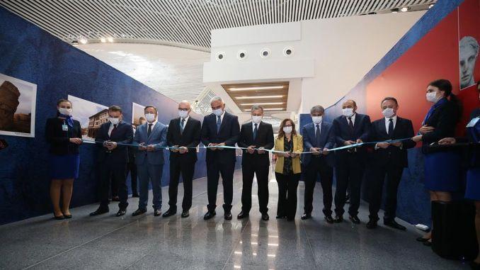 Binuksan ang museo ng Istanbul airport upang bisitahin