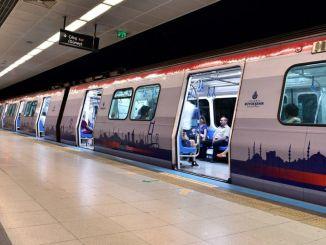 Het openbaar vervoer in Istanbul is met een percentage gestegen ten opzichte van maart