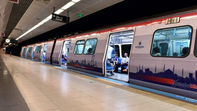 Public transportation in Istanbul increased by a percentage compared to March
