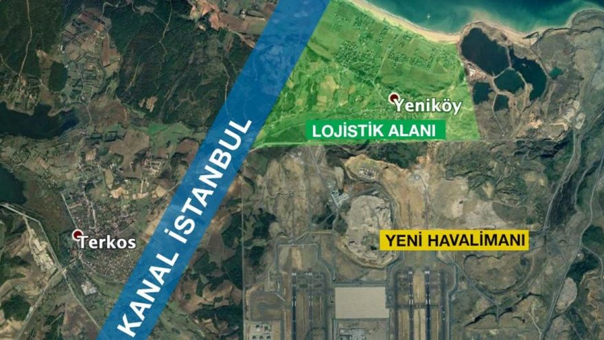 yenisehir project to be established around canal istanbul will swallow yeniko