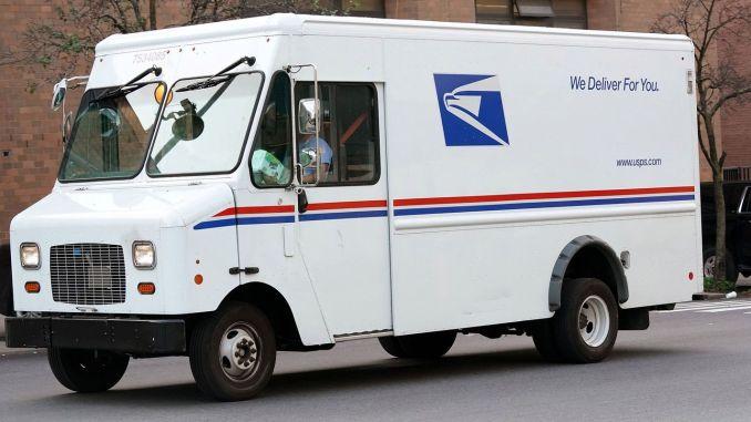 Americké poštové služby dodávka vozidla ponuka vozidla