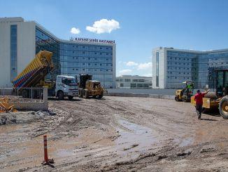 Transportasi ke rumah sakit kota Kayseri lega