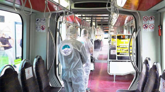 There is no epidemic in public transport vehicles in Kayseri