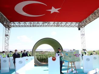 konya plain irrigation project put into service