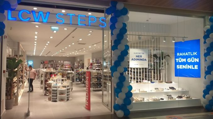 New shoe store chain from lc waikiki lcw steps