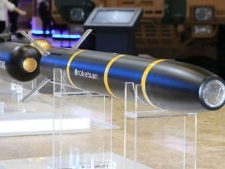 Tests of the tanok laser guided missile continue