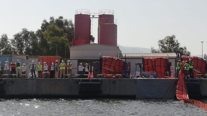 tcdd izmir port marine pollution emergency response exercise