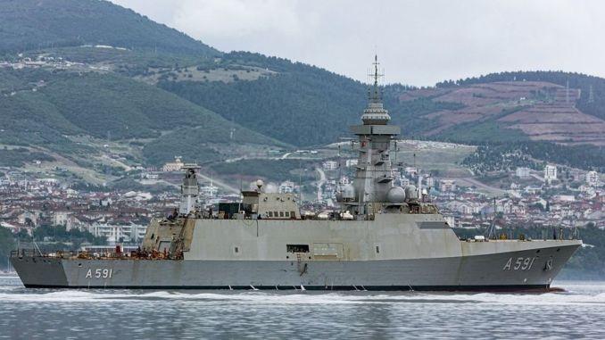 تأجيل تاريخ تسليم سفينة الاستخبارات TCG Horizon