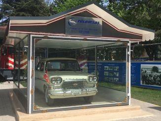 A tulomsas forradalmi kocsik múzeuma megnyílt