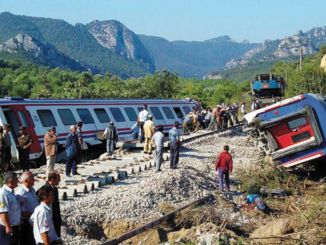 incidente ferroviario positivo in Turchia tre volte la media mondiale