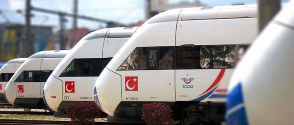 швидкісний і швидкісний залізничний атагун від turkiyede