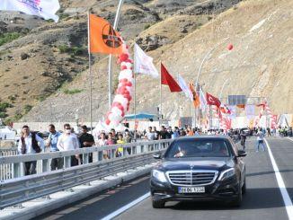 Cai najvišji most ladijskega mostu turkiyenin obrambe Pendik služba je bila nujna