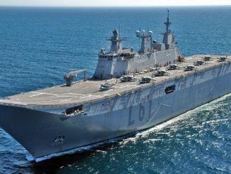 turkiyenin esimene kahepaikne rünnaklaev TCG Anatoolia