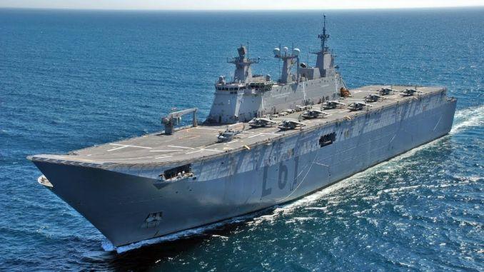 turkiyenin first amphibious assault ship TCG Anatolia