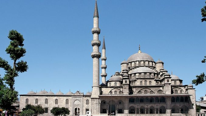 about the new mosque valide sultan mosque