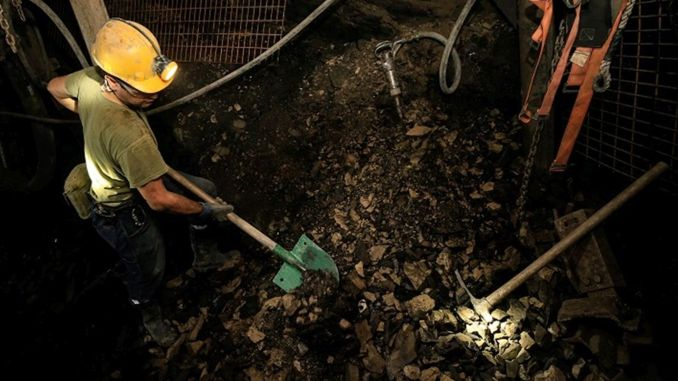 Monthly grant support to underground mining enterprises