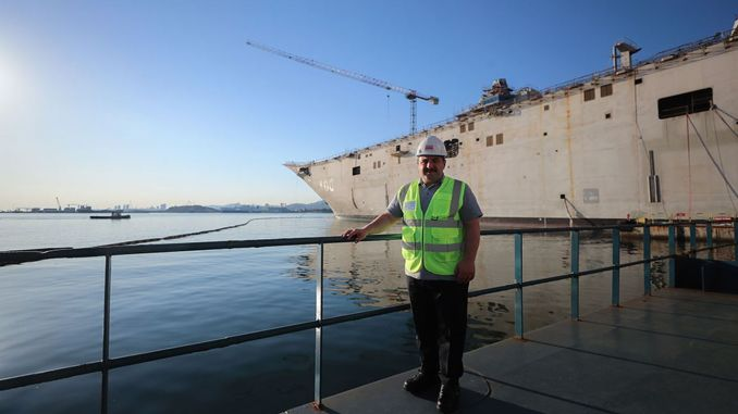the construction of the floating ktla tcg anadol continues at full speed