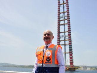 ¿Cuándo se pondrá en servicio el puente Canakkale?