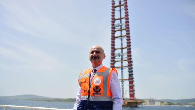 متى سيتم تشغيل جسر كاناكالي؟