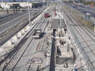 42 इवेलर ट्रेन स्टेशन पर फिर से काम शुरू हो गया है