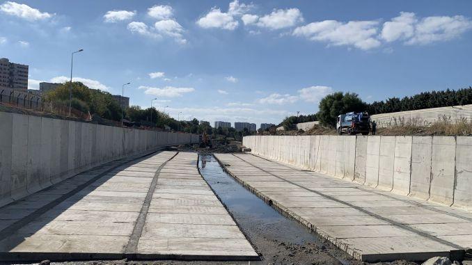 Pekerjaan perbaikan Ayamama Creek